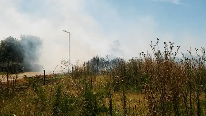 incendio en calle 21 otra foto