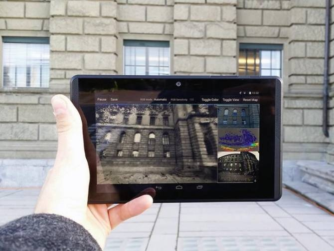 tablet proyecto tango