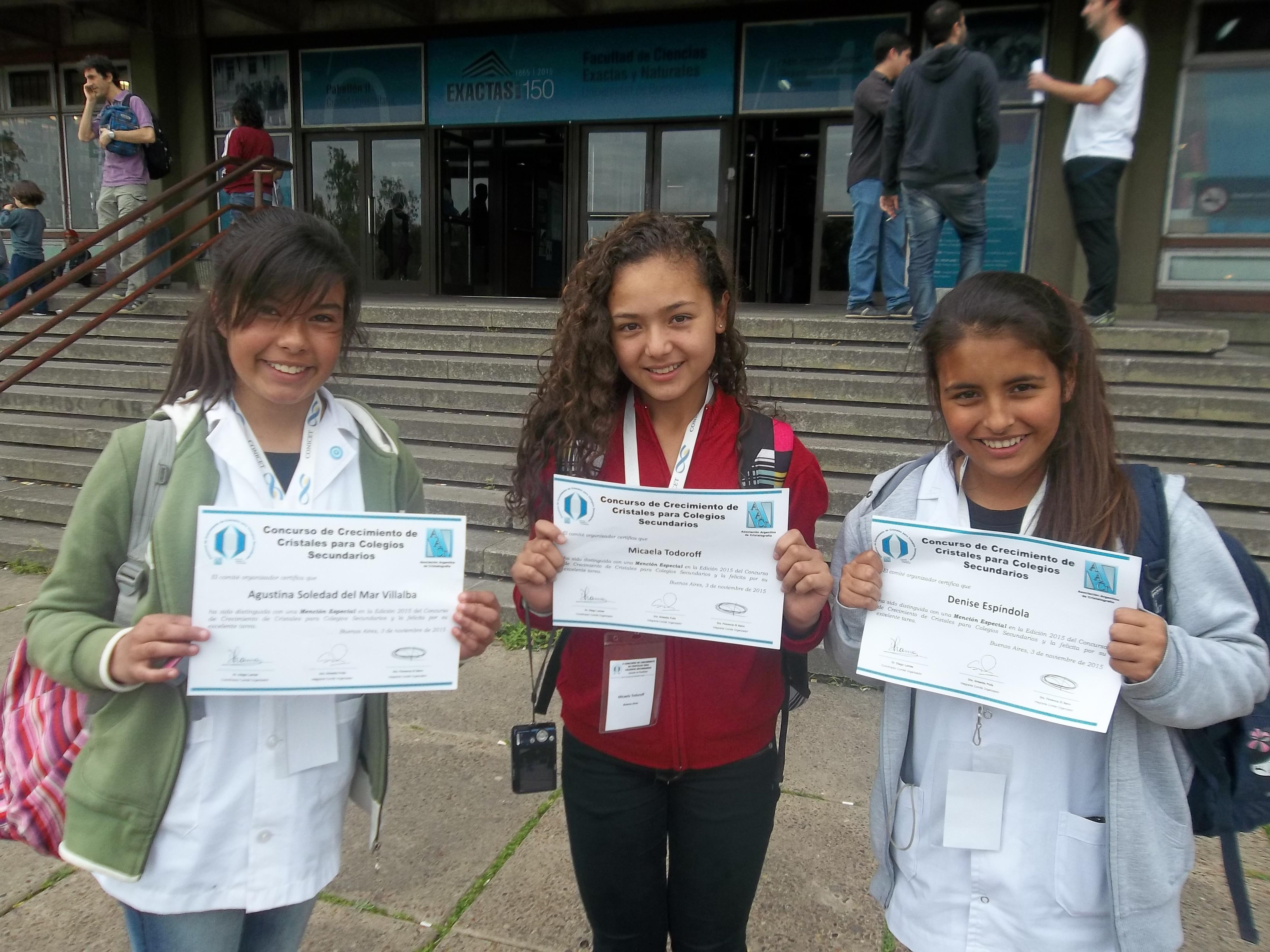 Noticias_chivilcoy_Medalla de bronce para una secundaria de Otamendi - 2