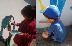 noticias_chivilcoy_nenes pintando