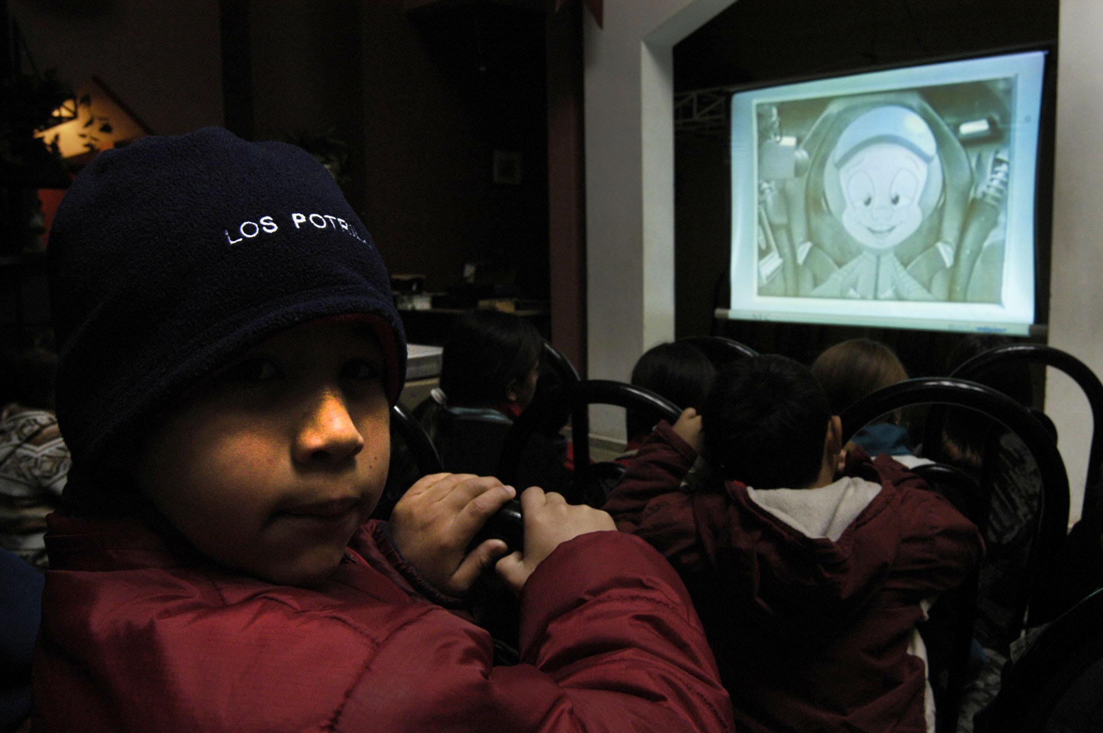 22 marzo2016- Crece el interés por el cine entre los alumnos de las escuelas bonaerenses III