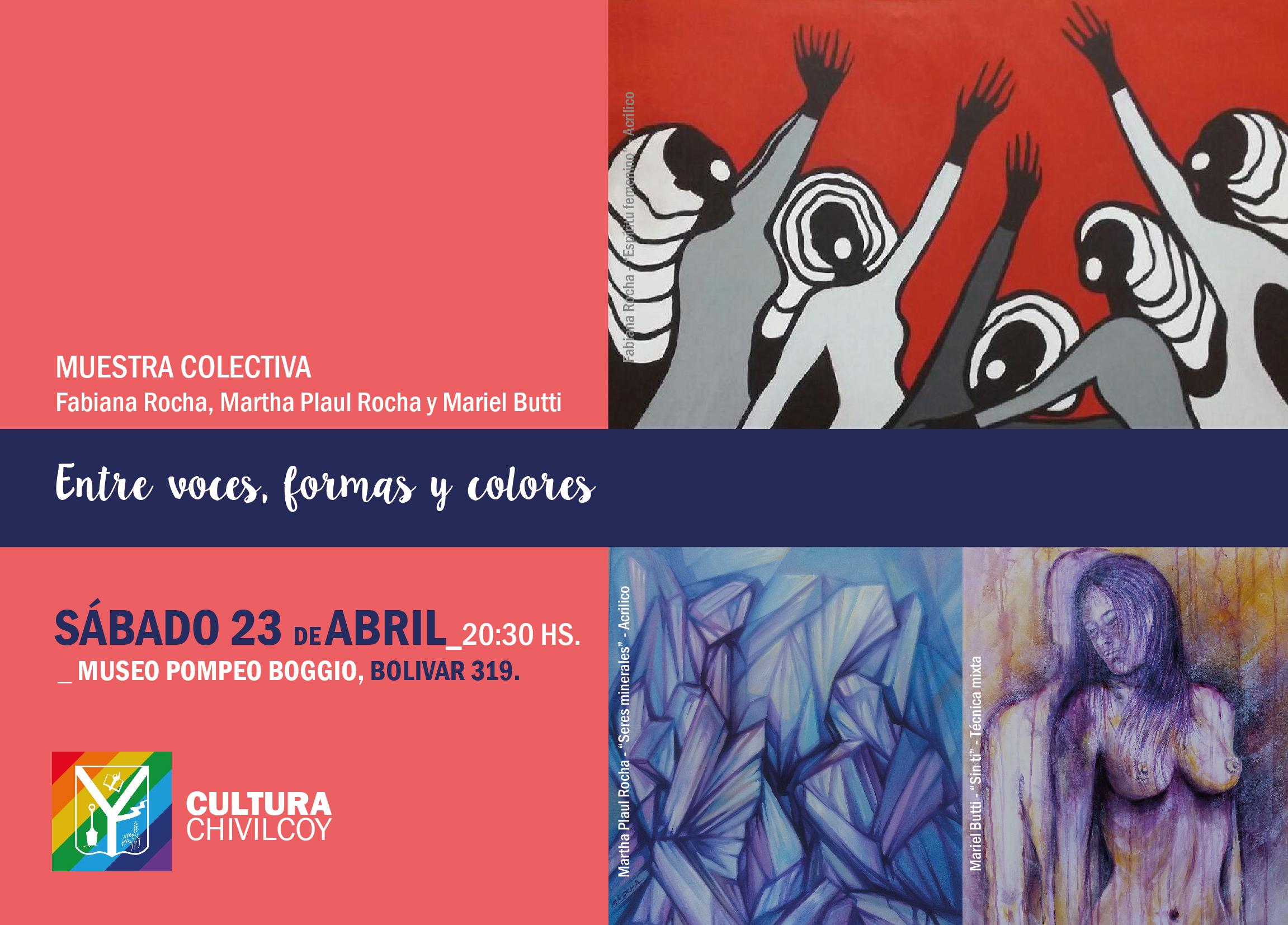 Noticias_chivilcoy_muestra_mirta Entre voces formas y colores_redes-01