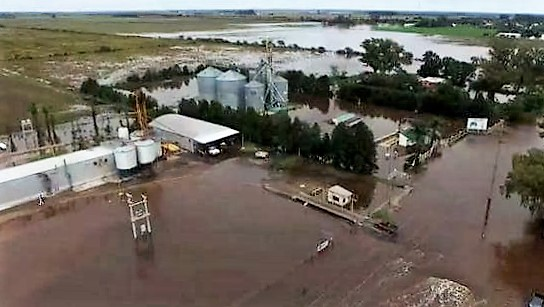 inundaciones  en  cordoba