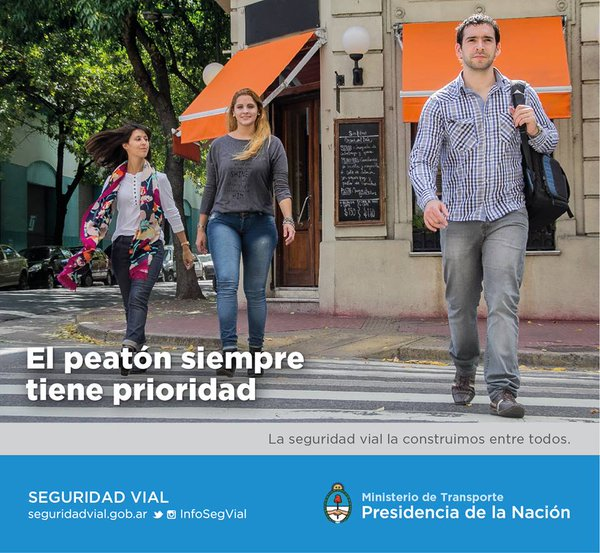 seguridad vial peaton