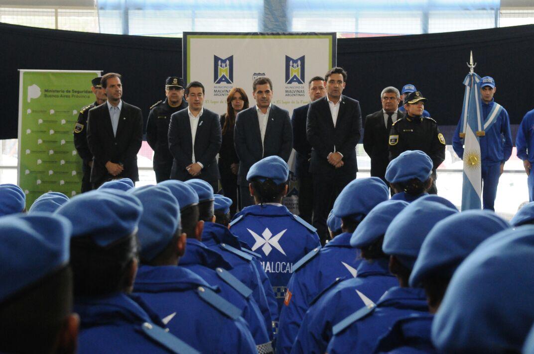 19-05 Ritondo presidió egreso Policía Local en Malvinas Argentinas