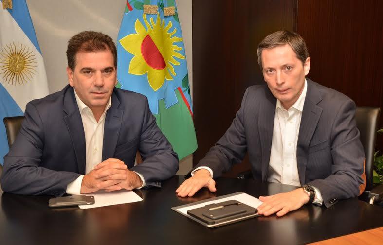 19-05 Ritondo se reunió con intendente de Esteban Echeverría