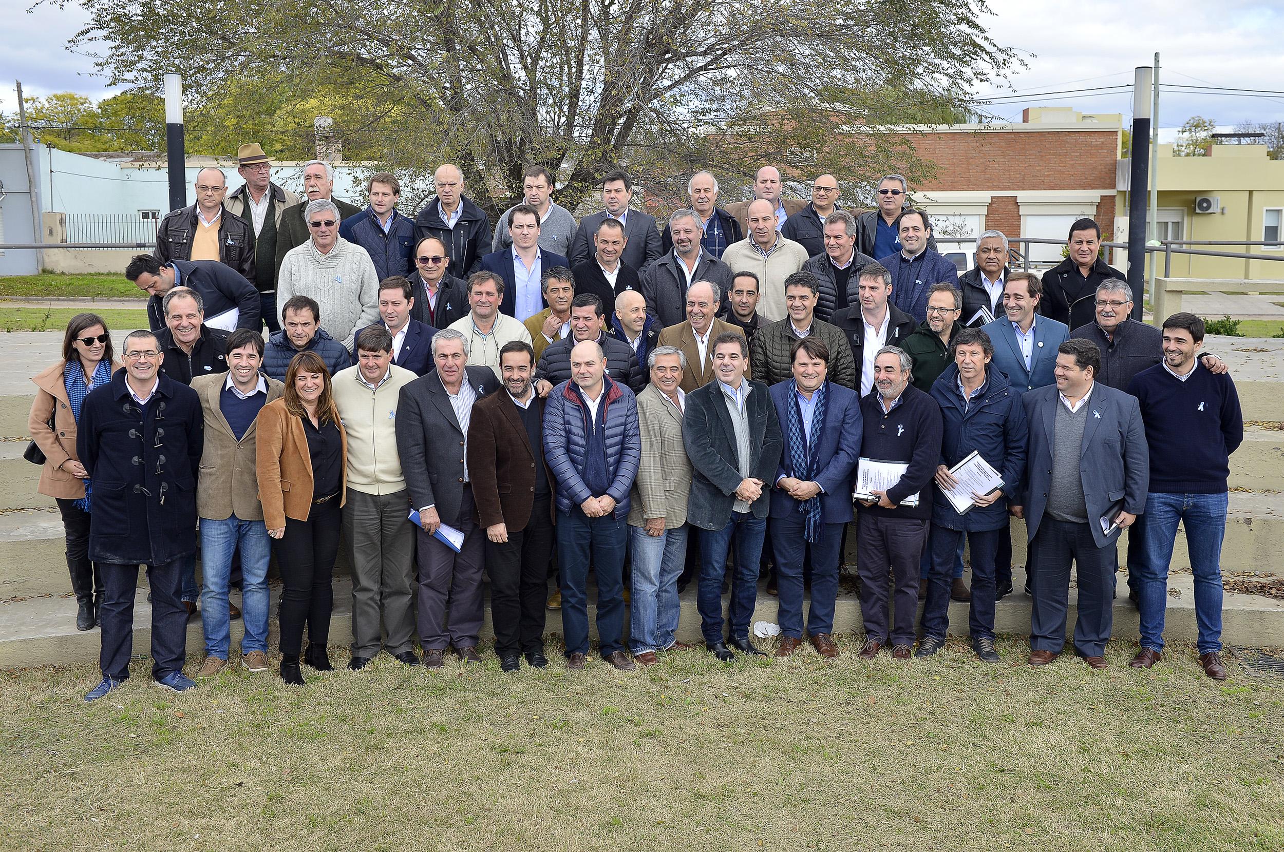 20-05 Ritondo reunión con intendentes de Cambiemos