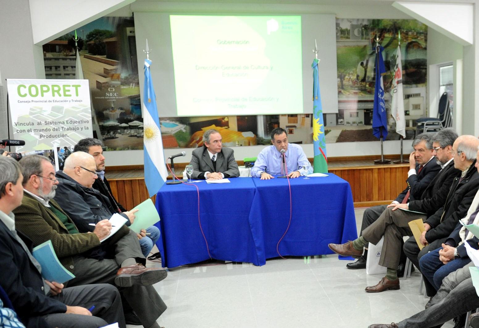 26-05-2016 - Finocchiaro en Consejo Consultivo del Copret