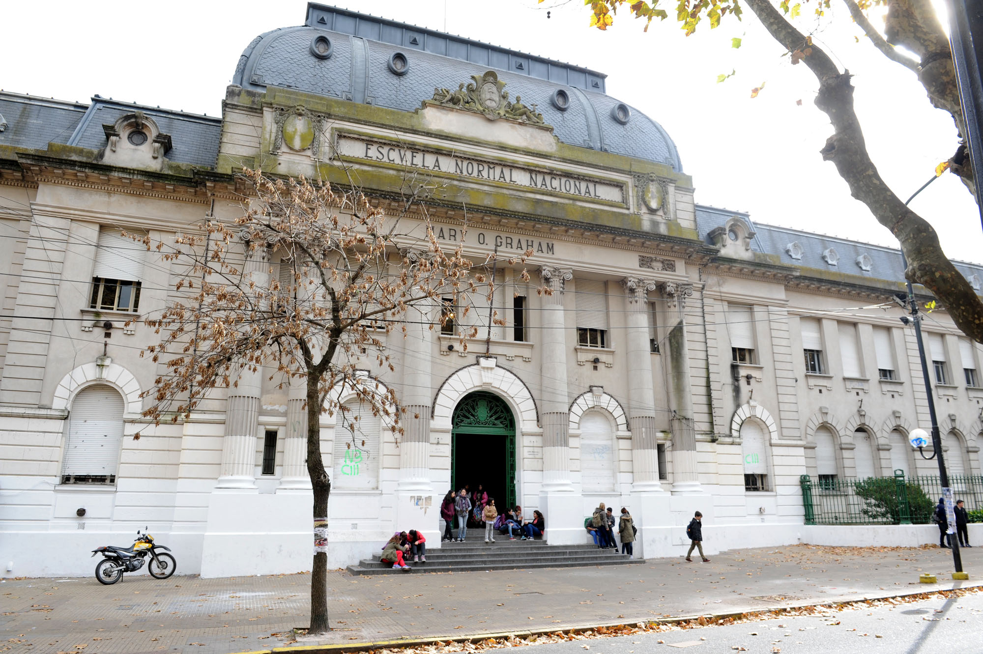 26-05-2016 - Se licitó la obra de restauración y puesta en valor del edificio Normal 1 de La Plata