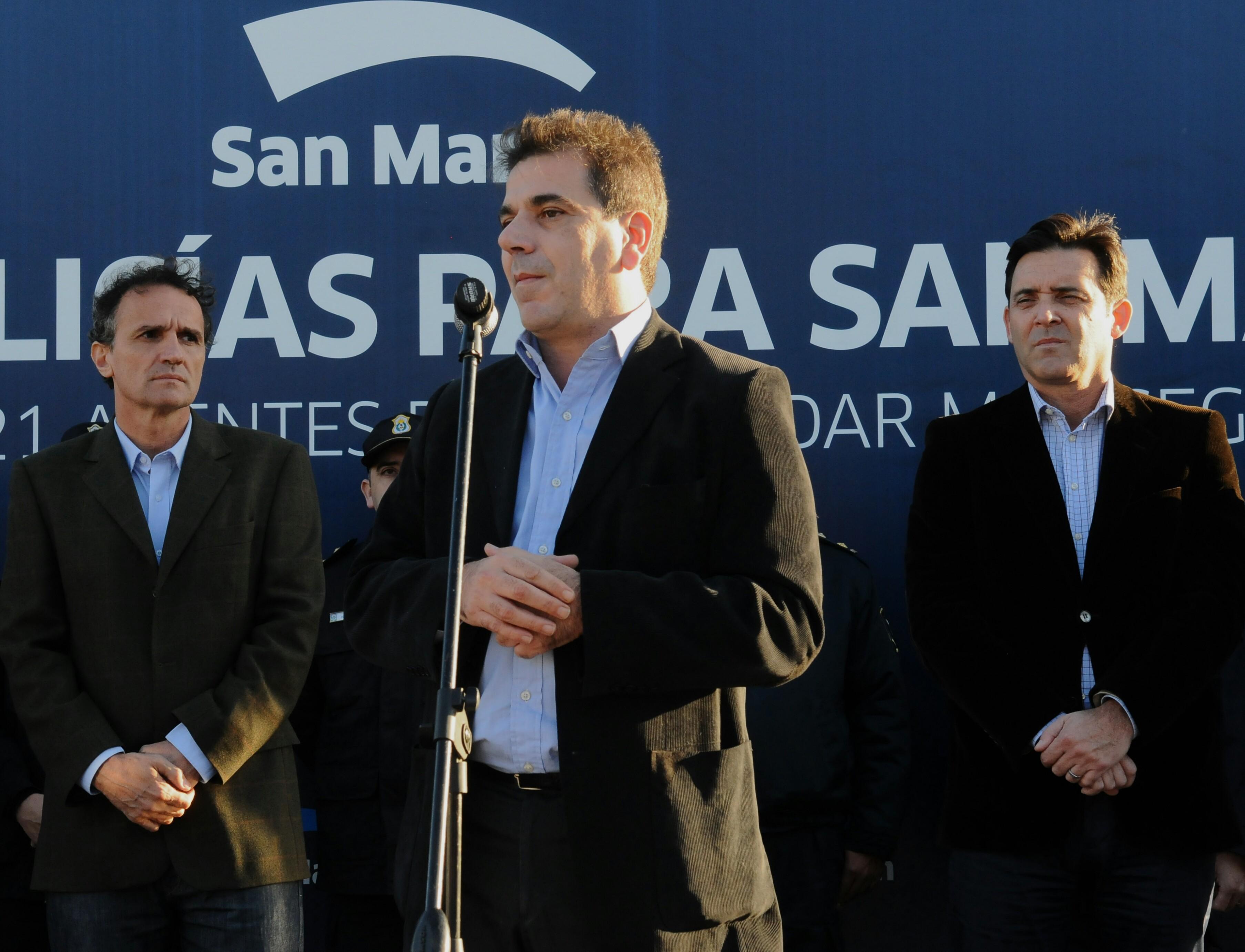 Ritondo presidió egreso de la segunda camada de la Policía Local de San Martín (2)