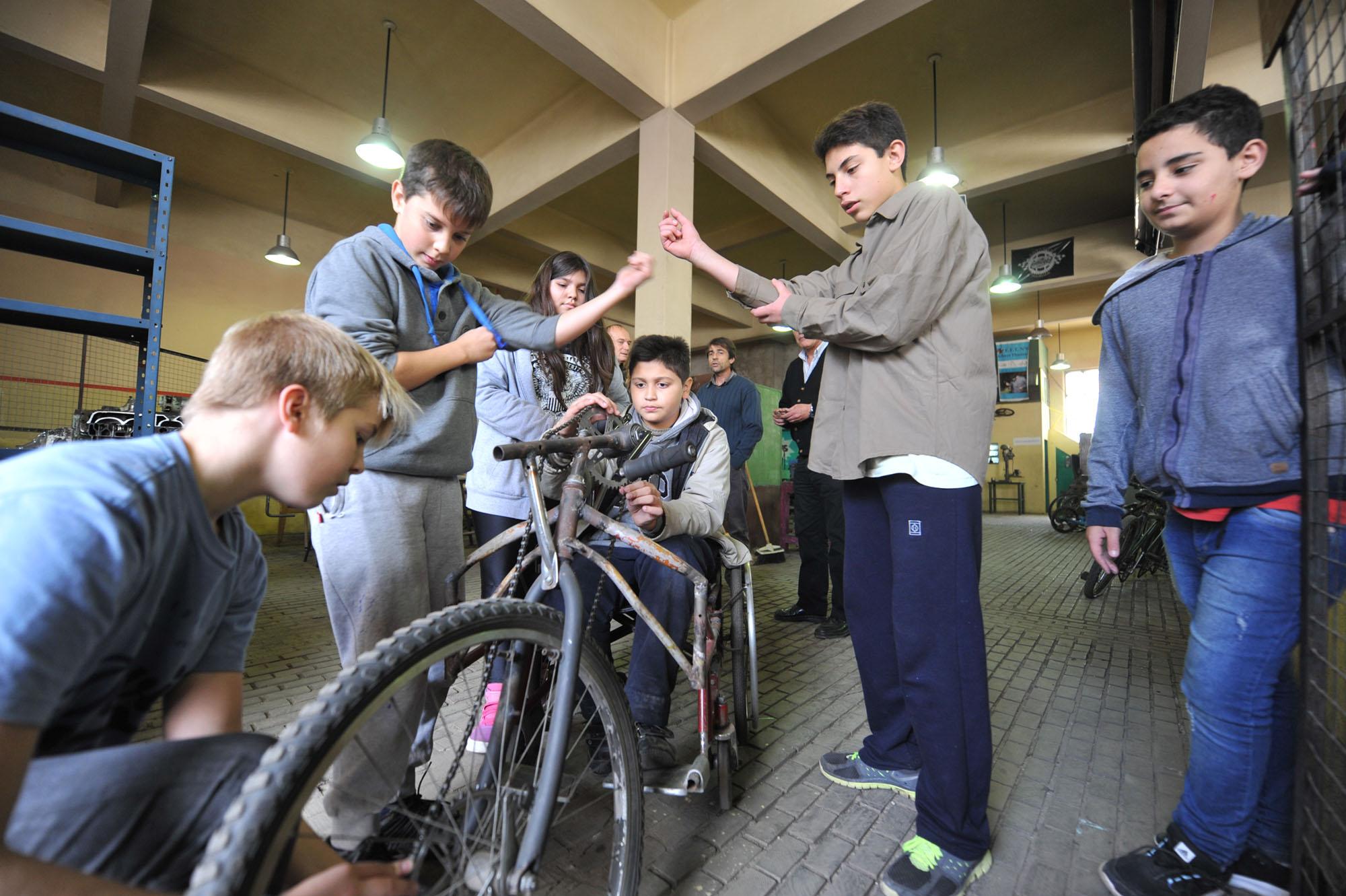 Taller de bici ET 6 La Plata 3