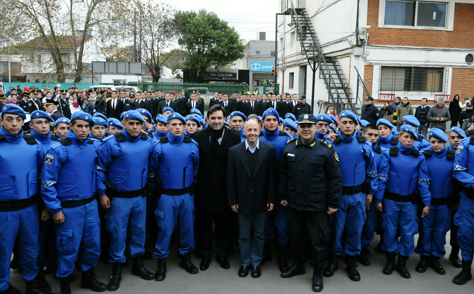 charla Egreso de la Policía Local de Pilar