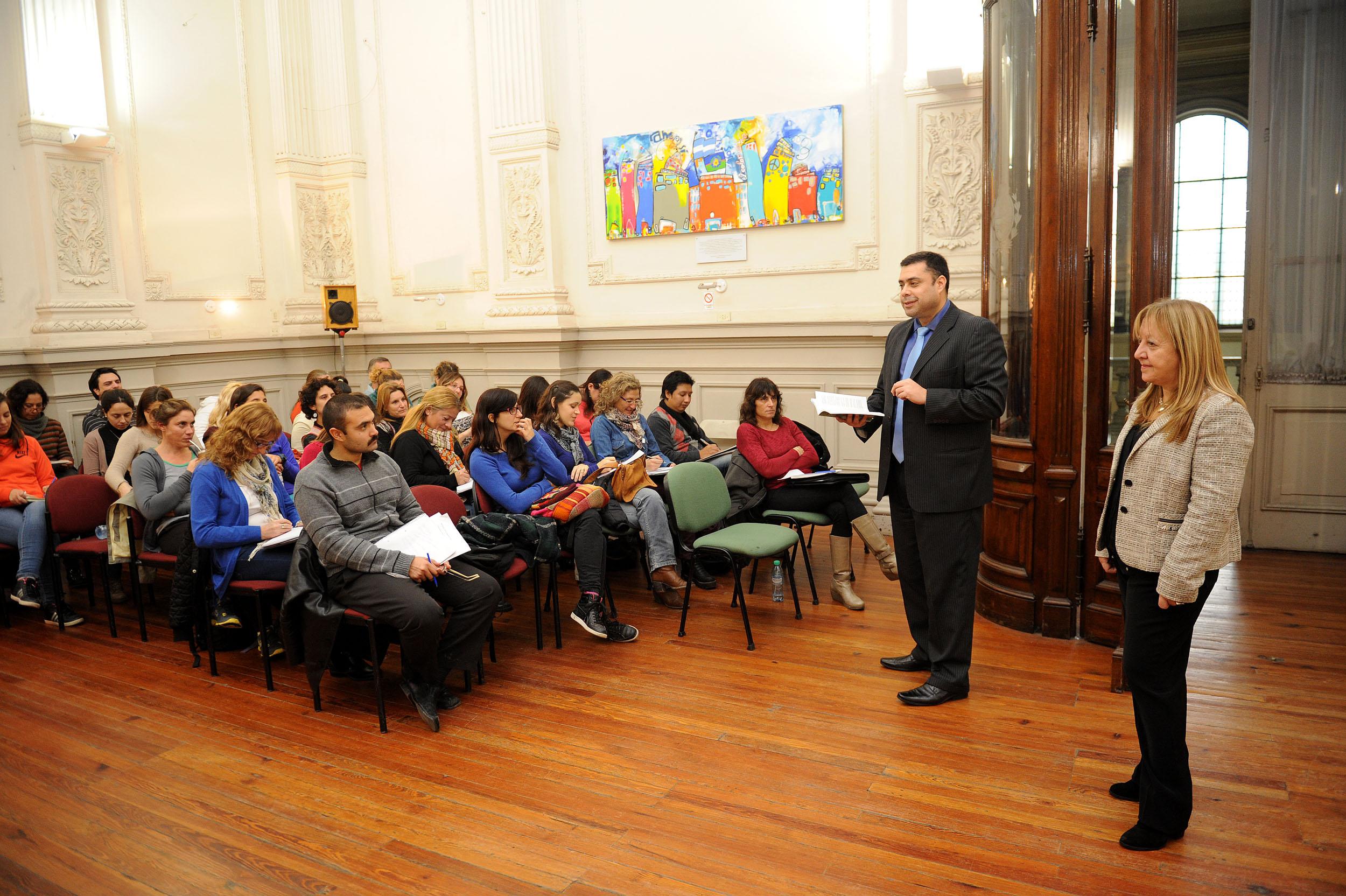 31-05-2016 - Última clase de capacitación sobre el Estatuto del Docente