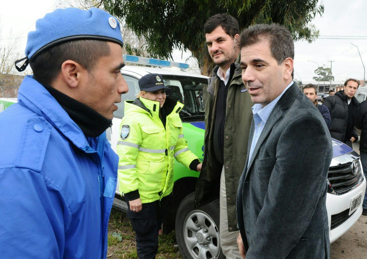 Ritondo y Burzaco - Operativos en conjunto en Mar del Plata (1)