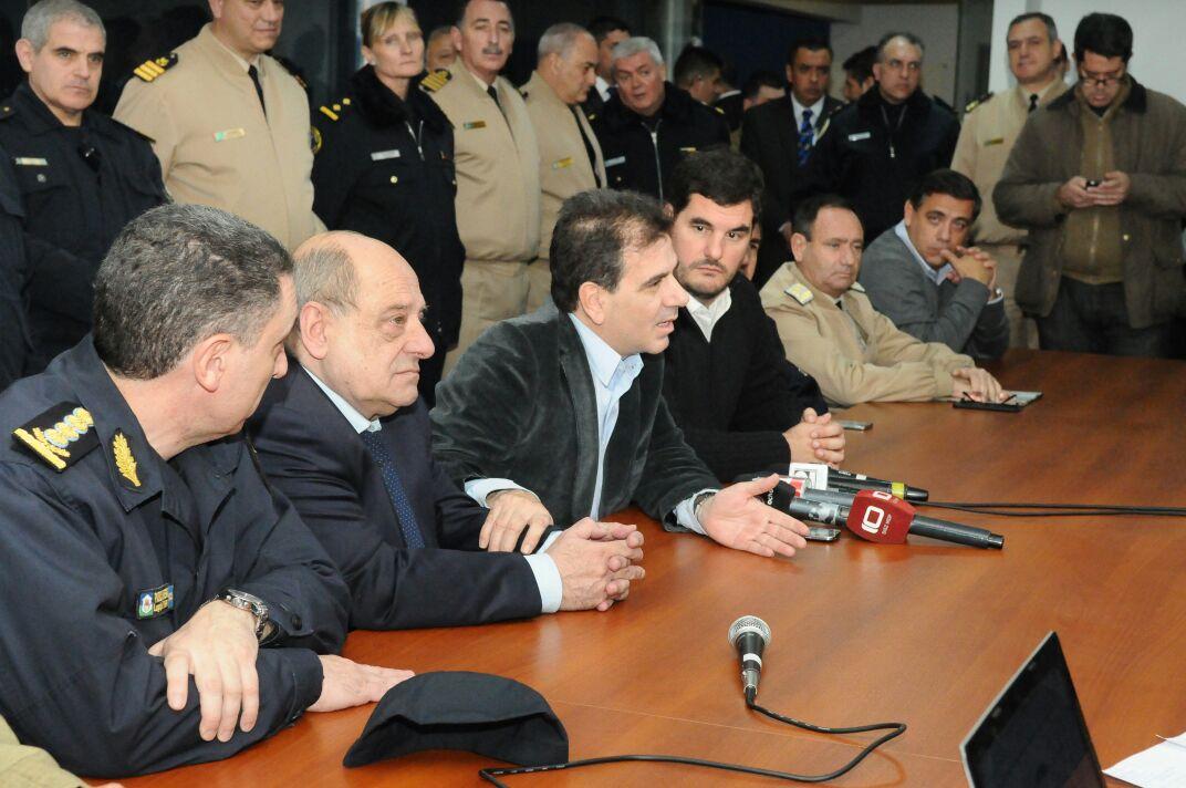 Ritondo y Burzaco - Operativos en conjunto en Mar del Plata (3)