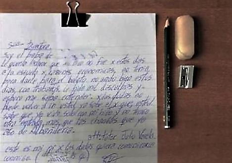 carta de un padre