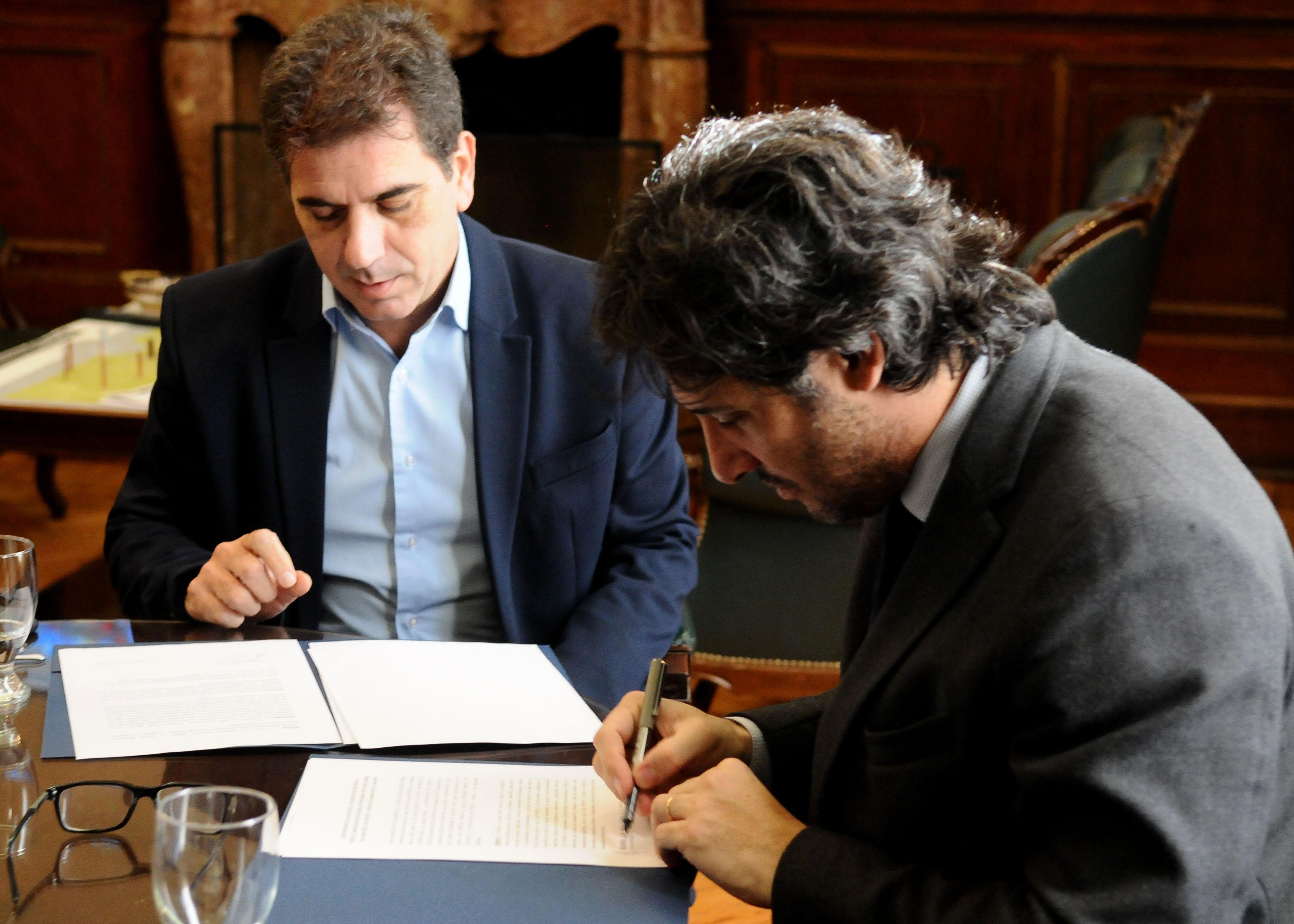 06-07 Ritondo - Firma de convenio con Min. de Justicia de Nación