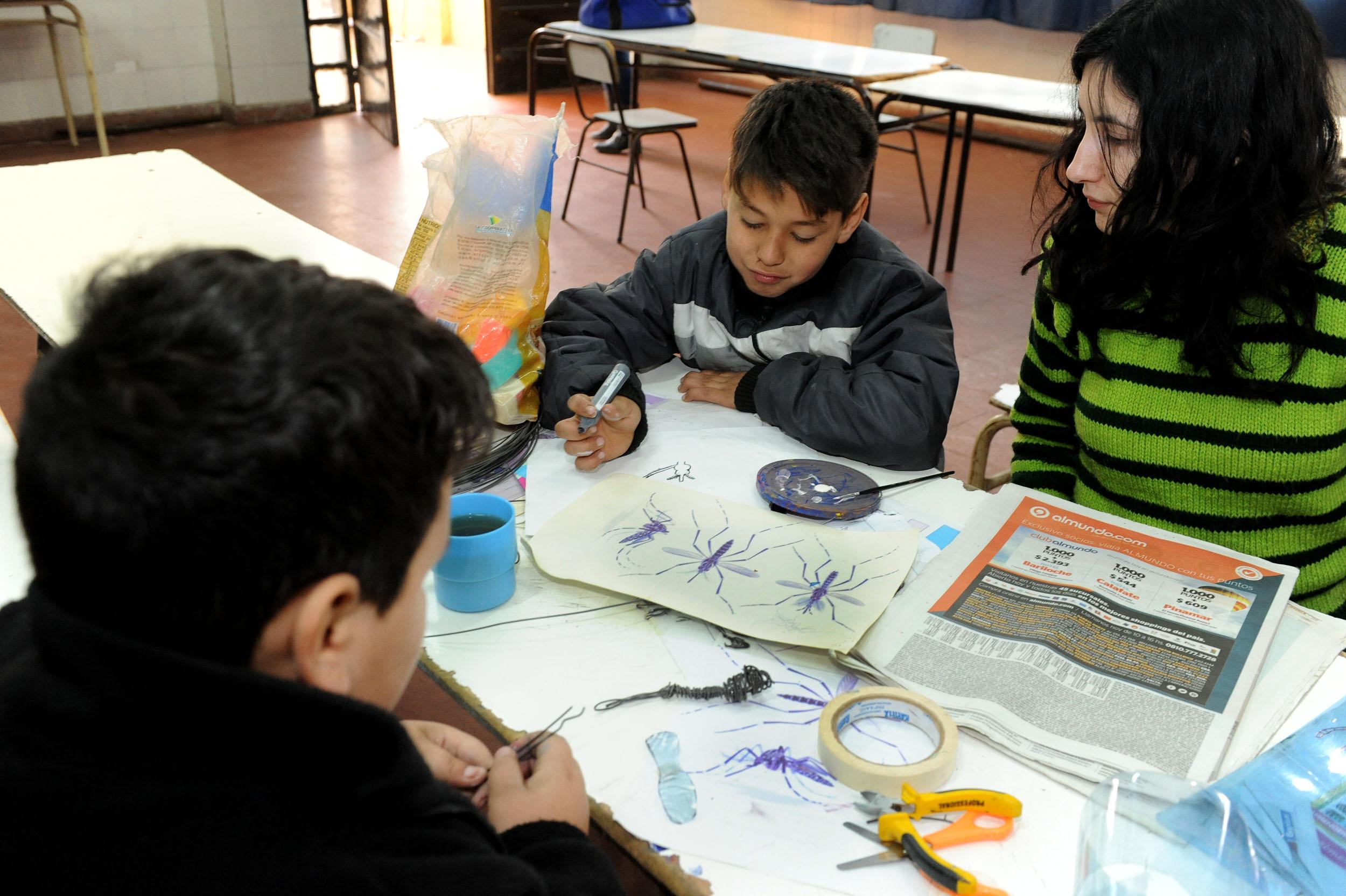 Educación y Salud realizaron jornada de prevención de Dengue, Zika y Chikungunya