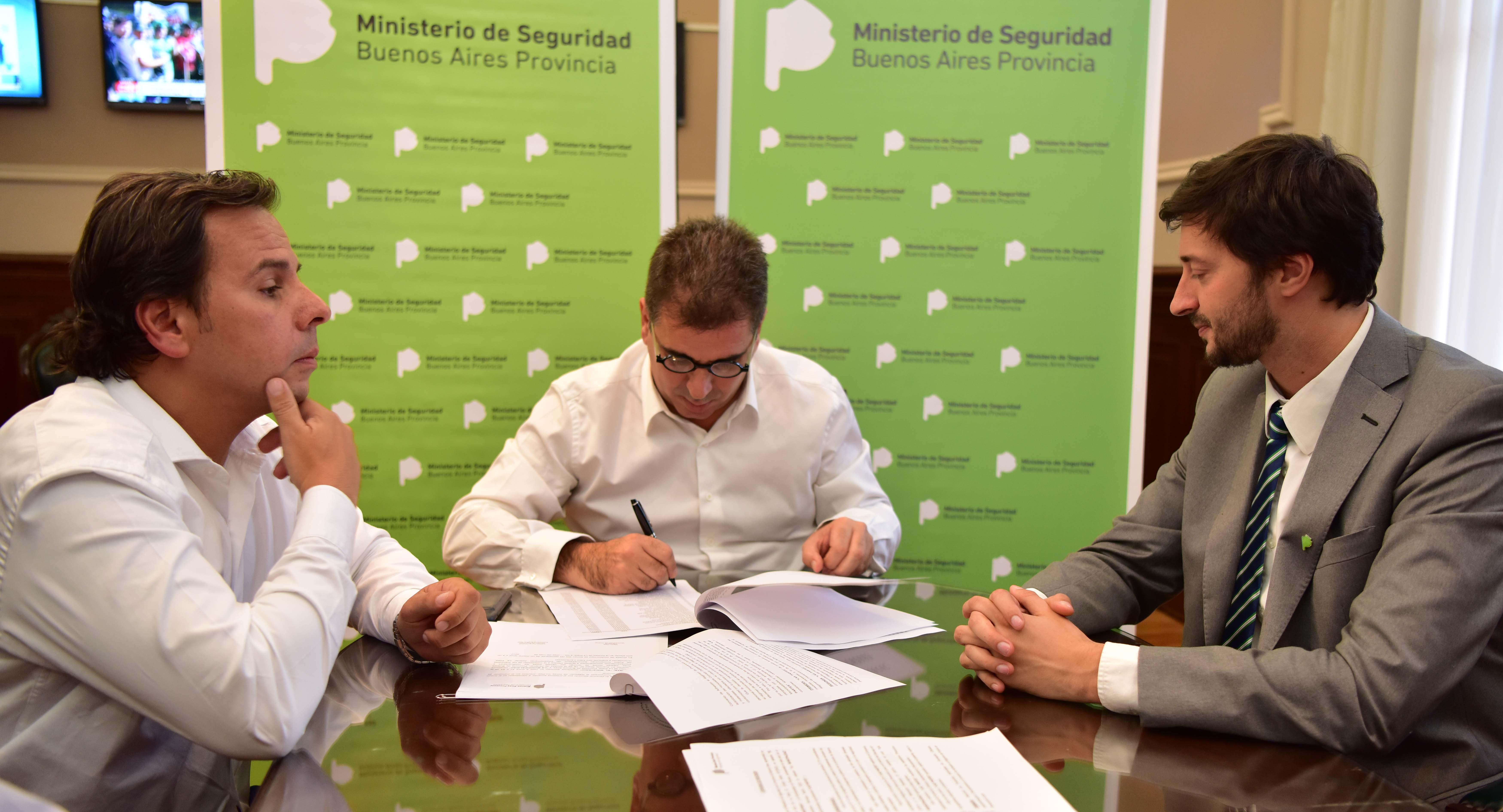 Ritondo Y Yeza Firmaron Convenio De Unificaci N De Las