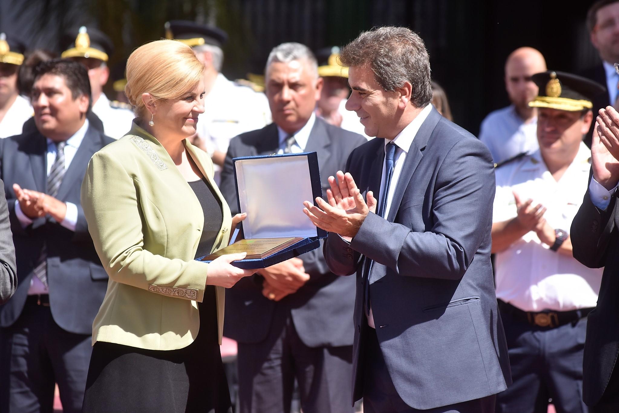 Ritondo recibió a la presidenta de Croacia – Noticias ...